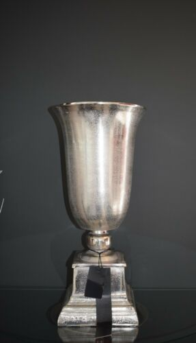 Verschiedene Bodenvasen Vase Nickel//Aluminium  Blumenvase Exklusive Dekoration