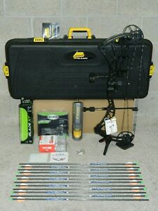 NEW-Loaded-Black-BOWTECH-Revolt-Bow-Package-60-to-70-lb-26-to-31-034