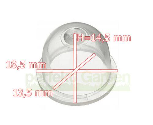 6 X Vergaser Primer Pumpe für Fuxtec Einhell Hecht Brast Zipper Rotfuchs Geräte