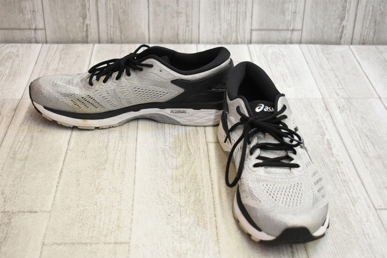 Asics Gel-Kayano 24 Calzado para Correr-Para Hombres (2E), Negro gris