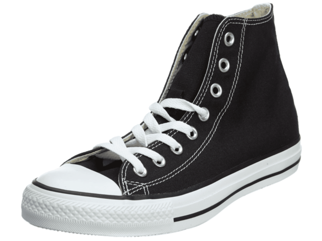 Converse Chuck Taylor All Star High Top Canvas M9160, Black/White Unisex Adult