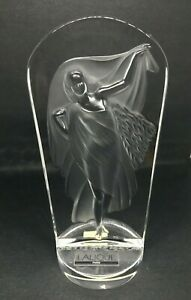 Lalique-Society-of-America-1990-034-Hestia-034-Crystal-Paperweight-Rare