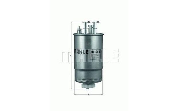 KNECHT Filtro combustible FORD KA FIAT PUNTO DOBLO FIORINO IDEA KL 566