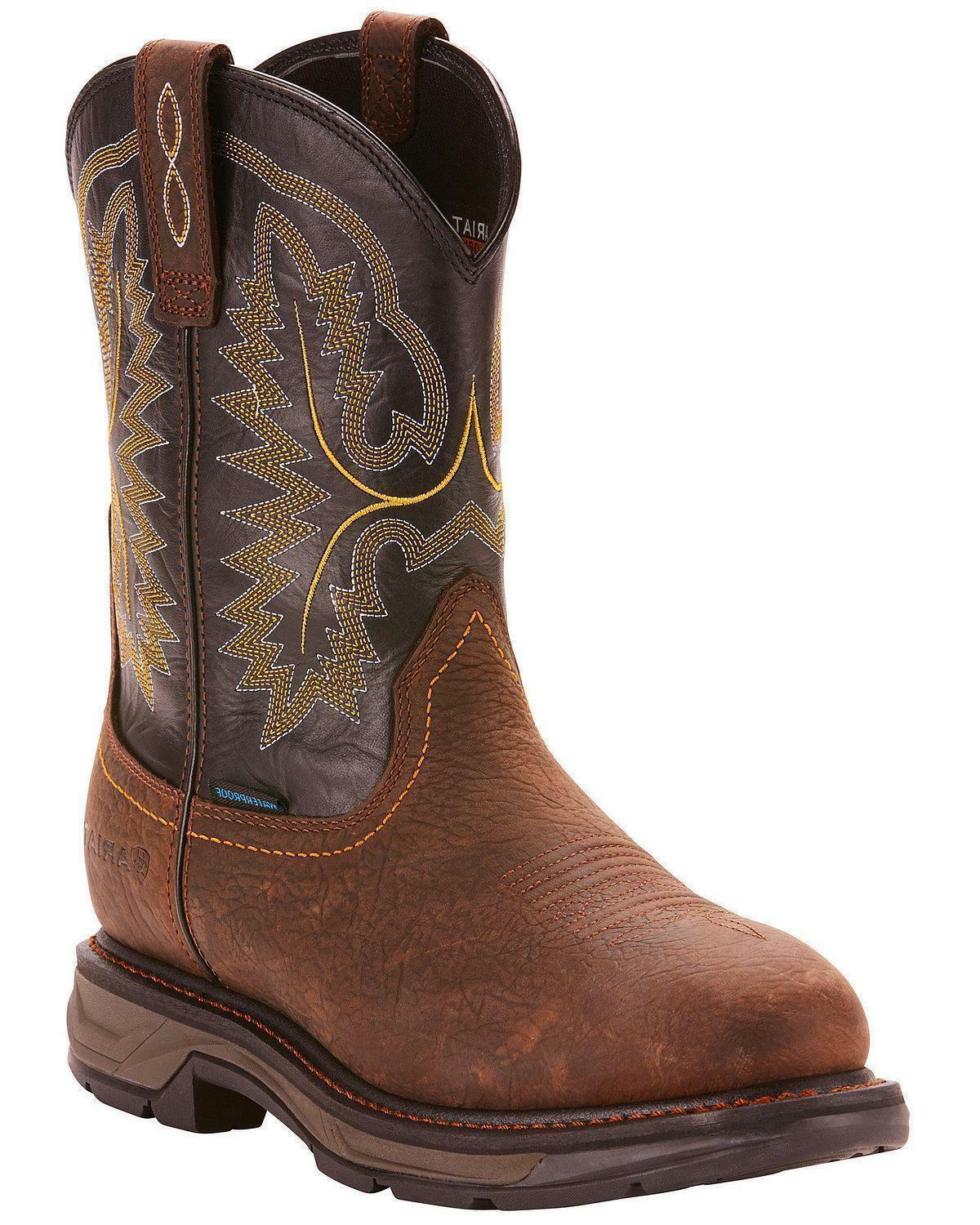 ARIAT  NEW  MENS WORK BOOT 10024962 COMP TOE WORKHOG XT H20