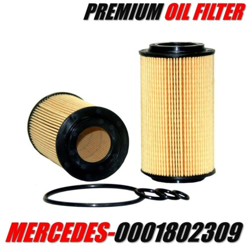 0001802309 MERCEDES-BENZ Engine Oil Filter OE# 1121800009