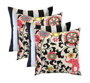 Set Of 4 17 In Outdoor Pillows 2