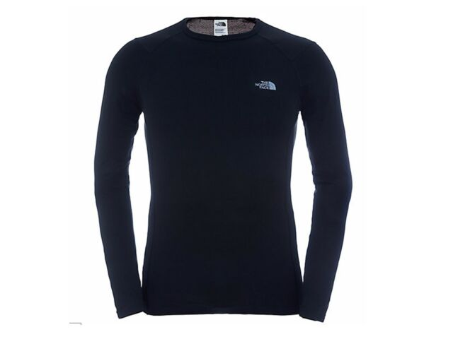 MAGLIA STRATO BASE UOMO THE NORTH FACE INVERNO C209JK3  WARM CREW BLACK