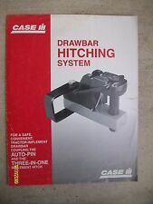 Original Vintage International Harvester Case IH Drawbar Hitching System Flyer
