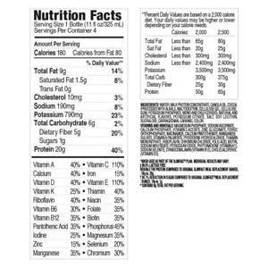 Nutrition Creamy Chocolate Shake