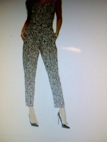 Print Women's Kollection Kardashian leopard Jumpsuit Convertible x5XAfAWq