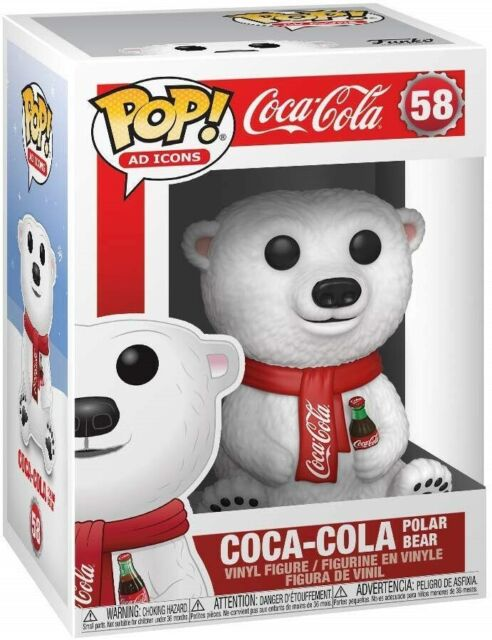 Funko - POP Ad Icons: Coca-Cola - Polar Bear Brand New