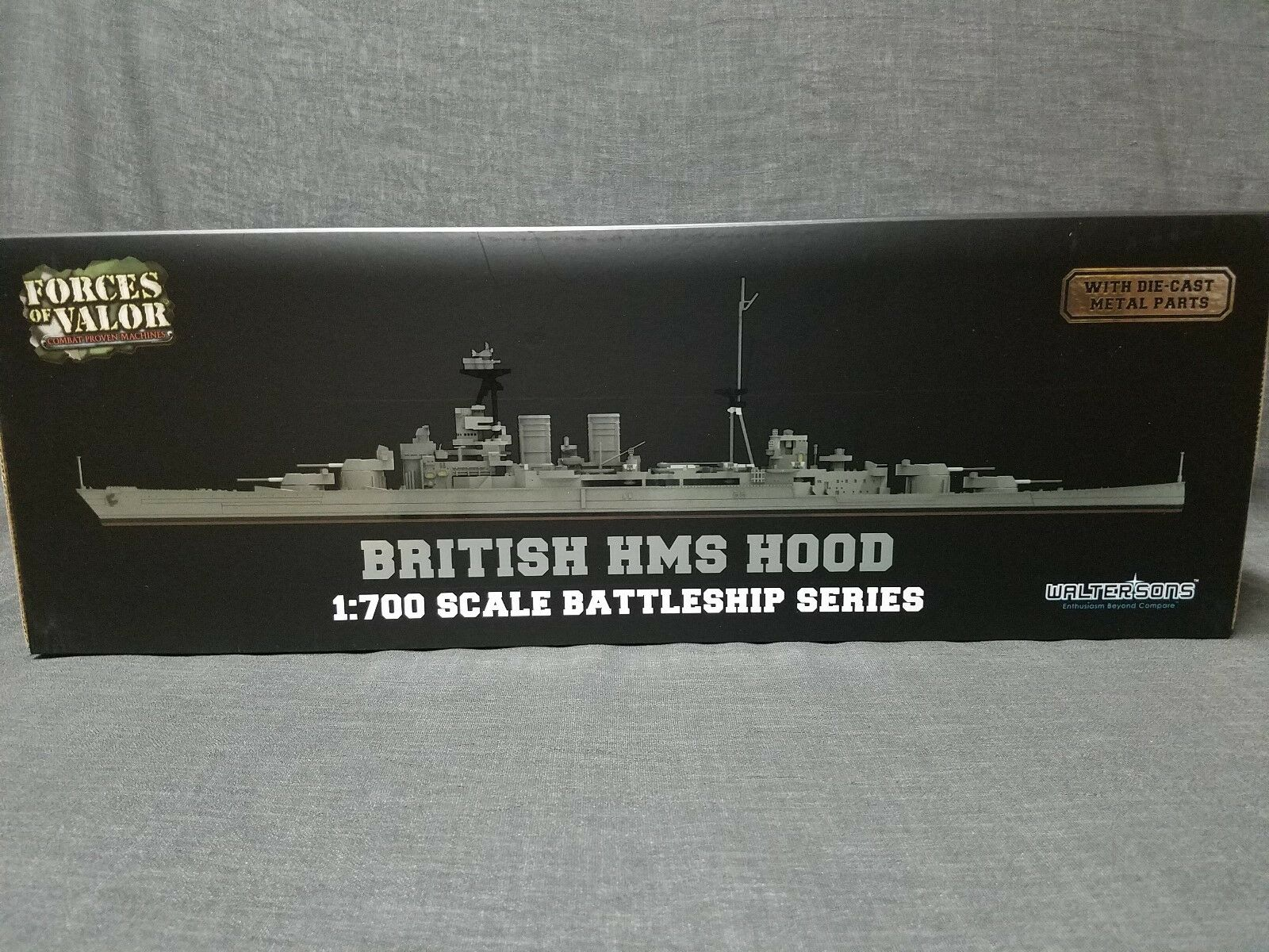 Forces of Valor -  British HMS Hood 1 700 Scale