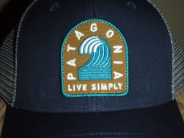 94dd073df704b Patagonia Live Simply Breaker Badge Patch Organic Cotton Hat for ...