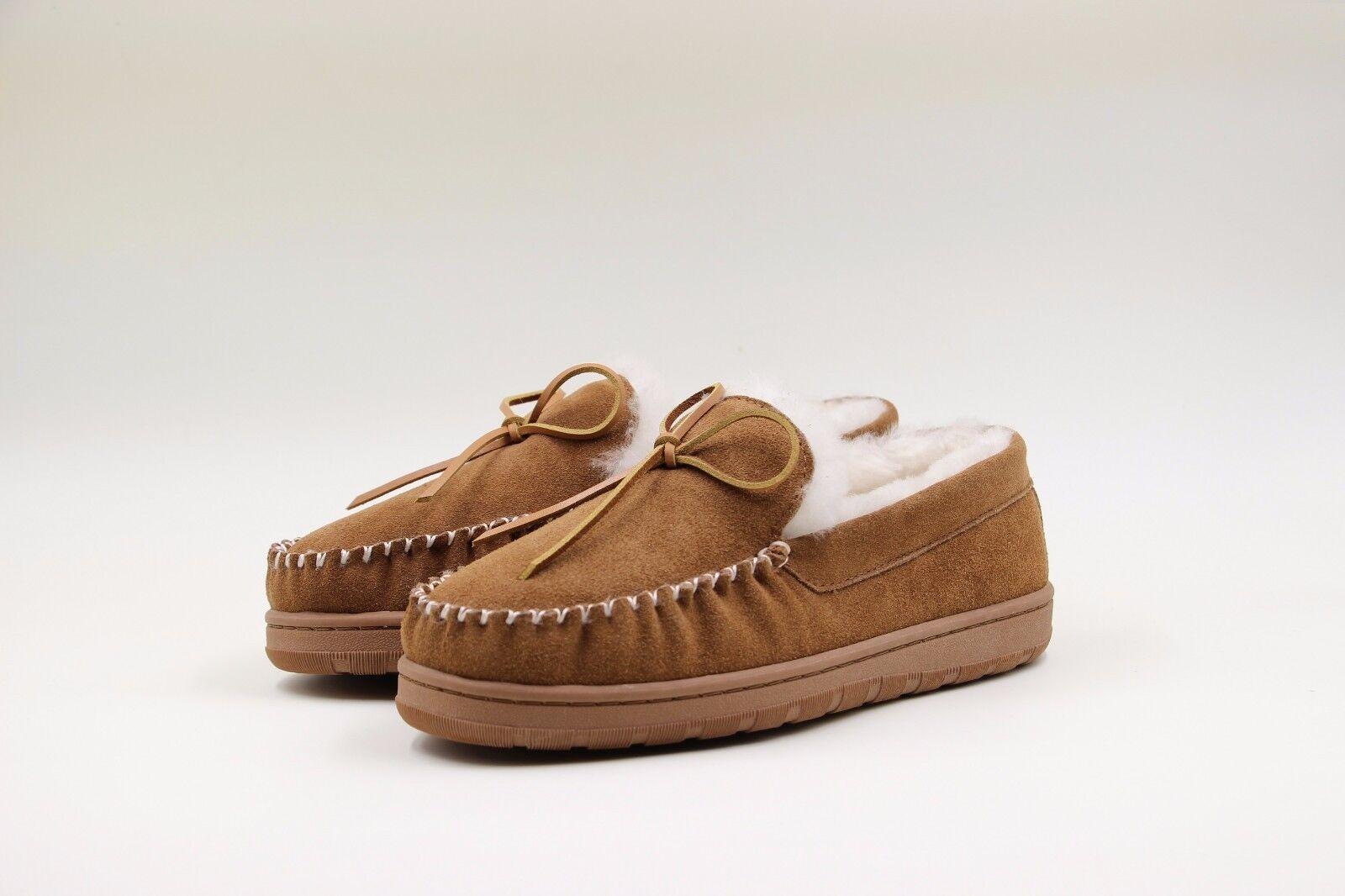 Señoras Señoras Señoras Zapatillas de Piel de Oveja Mocasín superlamb  edición limitada