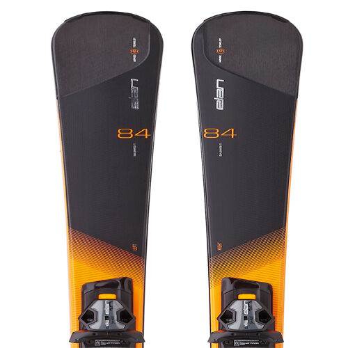 Elan 2016 Amphibio 84 XTI Skis w ELX 12 Fusion Bindings NEW 164,170,182cm