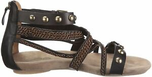 Leder Iris Sandaletten Yin 39 Gr Schwarz bv76gYfy