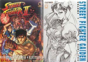 Street-Fighter-Gaiden-1-Lot-of-2-Shonen-Manga-English-16-Mami-Itou