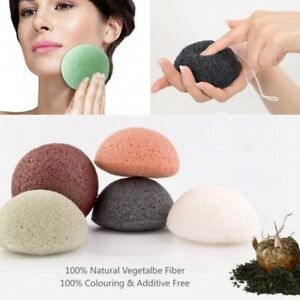 Natural-Konjac-Konnyaku-Jelly-Fiber-Face-Cleansing-Wash-Sponge-Puff