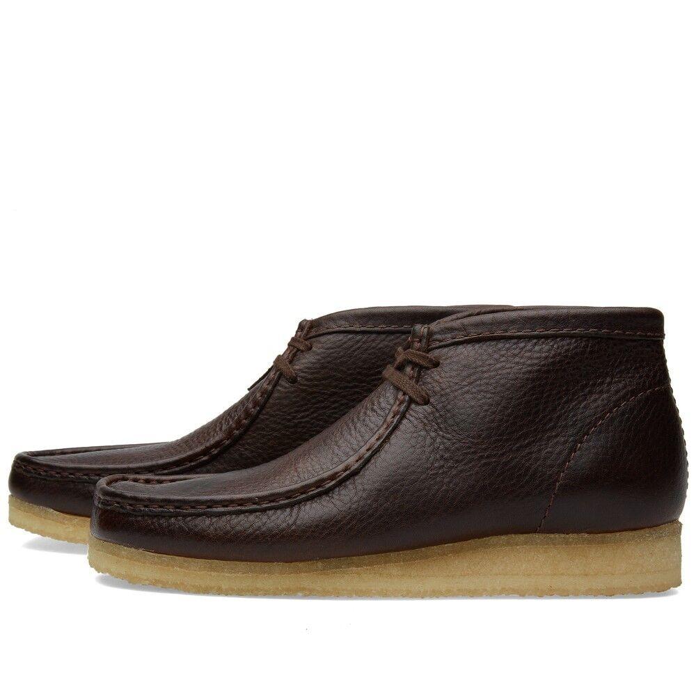 Clarks Originals Da Uomo ** X LEA Wallabee Boot Marrone CATAPECCHIE LEA X ** /8 G 427732