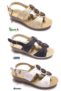 Inblu Offerta Zeppa Soft Cinturino Sandali Anatomico Donna Comodi XPkilOZuTw