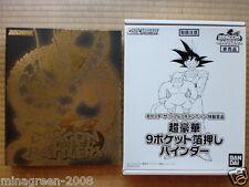 OOAK JAPAN DRAGONBALL CARDDASS DRAGON BATTLERS #1 Complete 60P + Card Binder Set