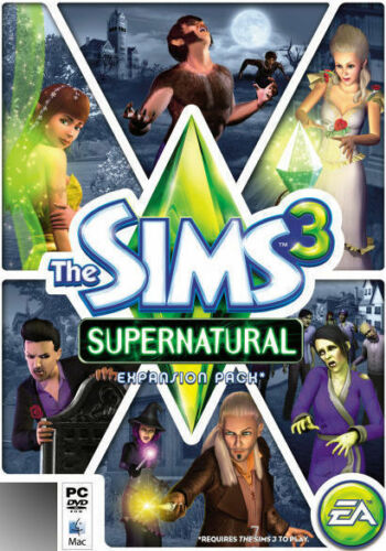 The Sims 3 Supernatural PC Windows, 2012