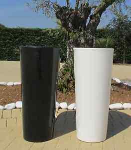 Vaso-resina-lucido-tondo-alto-vasi-moderni-H-85-x34x38-cache-pot-Made-in-Italy