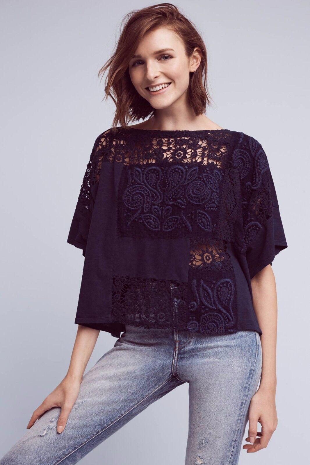 NWT SZ S Embroiderot Darrie Top By Akemi + Kin Kimono