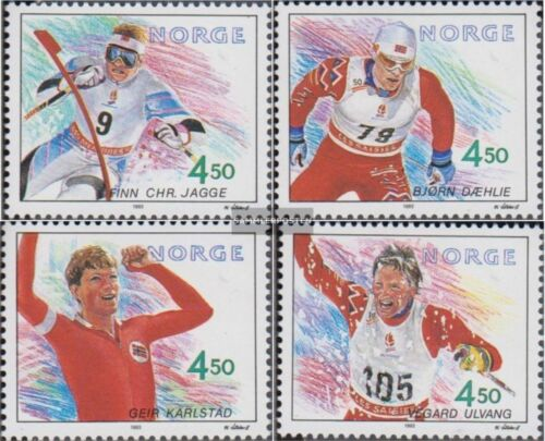 Norway 11191122 complete issue unmounted mint never hinged 1993 Olympics Wi