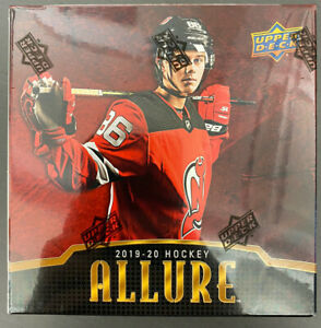 2019-20-Upper-Deck-Allure-Hockey-8-Pack-Box-NIP-Autographs-Relics-Possible