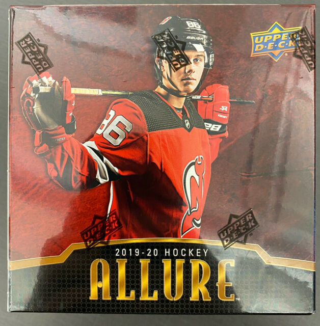 2019-20 Upper Deck Allure Hockey 8 Pack Box NIP Autographs Relics Possible