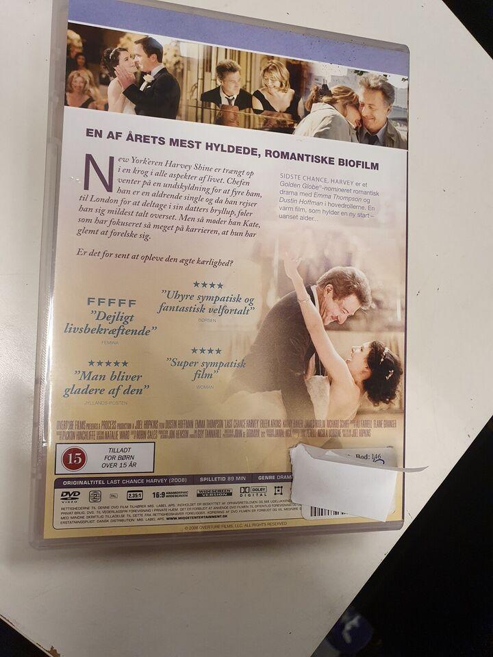 Sidste chance , Harvey, DVD