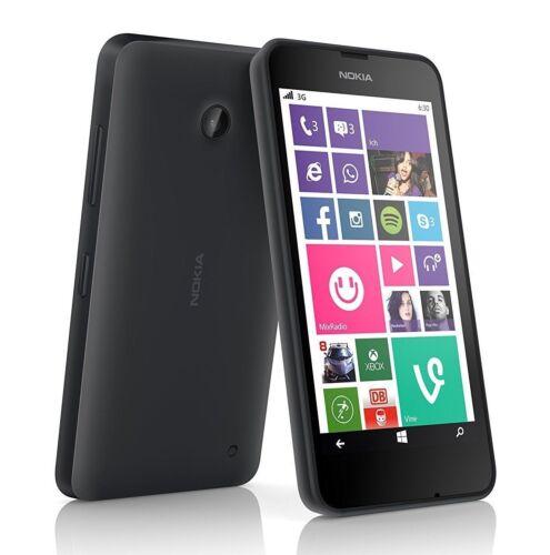 1 von 1 - Nokia Lumia 630 8GB - Schwarz Black Windows Phone Handy Smartphone ohne Simlock