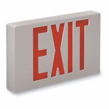 Big Beam Xkl2rwwu Red Letter Led Exit Sign 2 Faces 120277 Vac