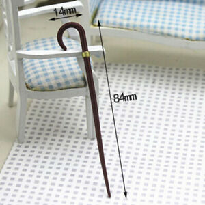 1-12-Dollhouse-Miniature-Accessories-Mini-Vintage-Simulation-Crutch-Model-Toy-D