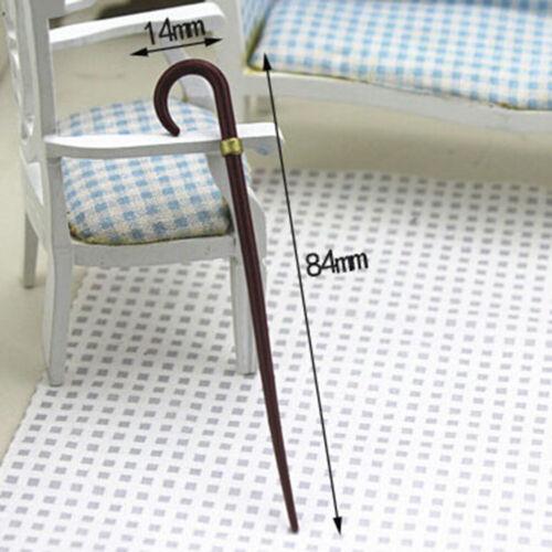 1//12 Dollhouse Miniature Accessories Mini Vintage Simulation Crutch Model ToyG2