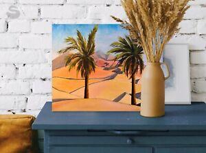 Dunes-UAE-oil-painting-on-canvas-40x50-cm-original-landscape-Pop-Art-Modern