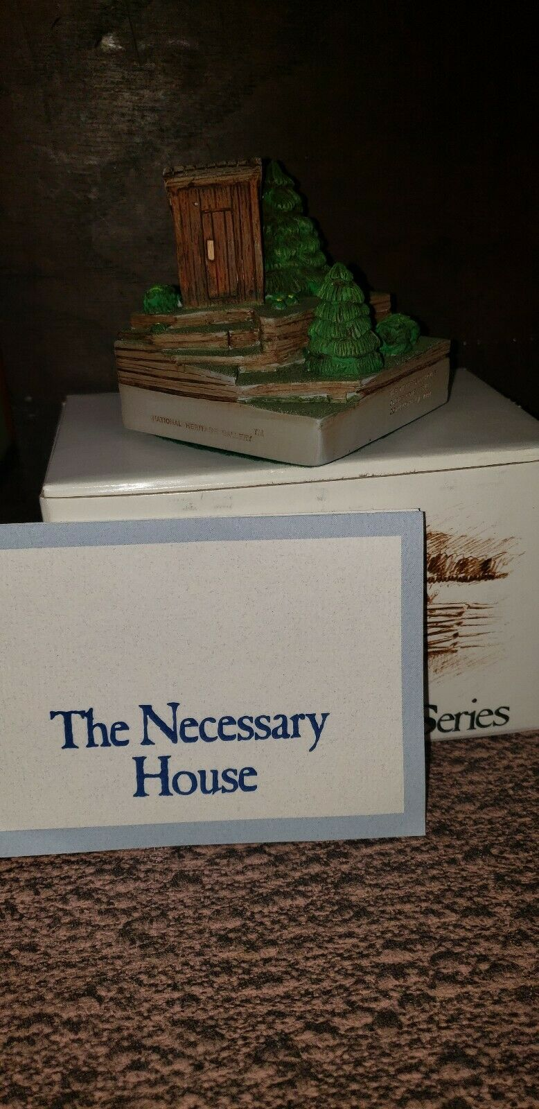 Cades Cove Series  The Necessary House  3500 3500 COA  Boxed