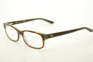 16338e3d54 New Authentic Ray Ban RB 5187 2445 Havana Green 52mm Frames ...