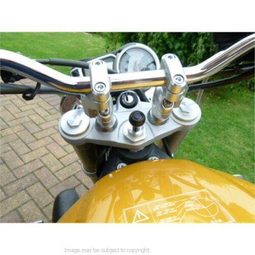13.3-14.7mm Motorcycle Fork Stem Yoke Mount for Garmin Zumo 595LM 395LM 345LM