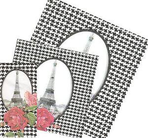 Serviettes-en-papier-Paris-Pied-de-Poule-Decoupage-Paper-Napkins-Eiffel-Tower