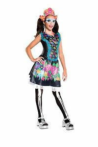 Skelita-Calaveras-Child-Girls-Costume-NEW-Monster-High