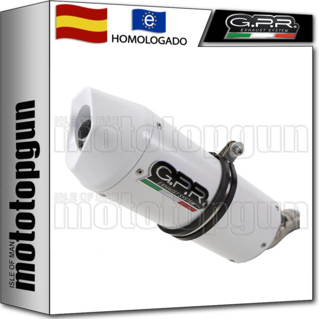 GPR TUBO DE ESCAPE BOLT-ON HOM ALBUS CERAMIC HYOSUNG COMET 650 GT - R 2009 09