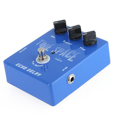 Guitar Digital Delay Pedal 25ms-600ms True Bypass Sturdy Stomp Switch