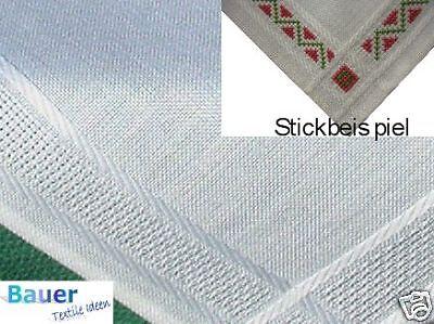 Moyens plafond 90x90 cm Stick couverture rouge pour point de croix Hardanger Noël le canevas