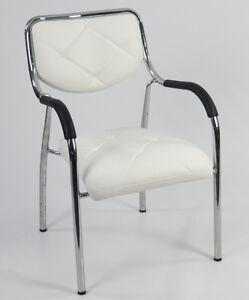 1-Stuhl-Chrom-Designer-PU-Leder-stapelbar-Kinderstuhl-Sitzhoehe-40cm-Stapelstuhl