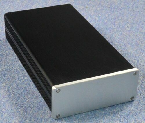WA140 full aluminum chassis Power amp box DIY amplifier case 134*55*248MM