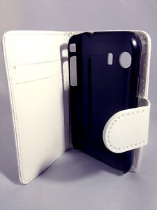 WHITE-WALLET-Leather-Case-Card-Slots-Phone-Cover-Samsung-Galaxy-Young-GT-S5360