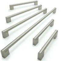 10 / 20 x Kitchen Cupboard Cabinet Boss Bar Door Handle Brushed Stainless Steel