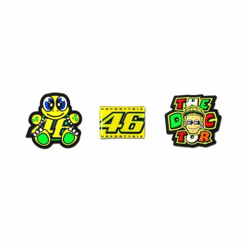 VRUMG 277303 Details about  /VR46 Official Valentino Rossi Doctor Magnet Set